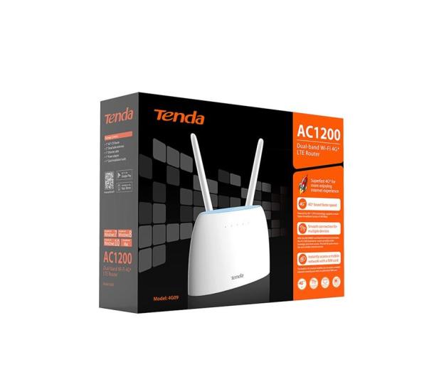 Tenda 4G09 WiFi 1200Mbps (LTE Cat.6 300/50Mbps) - 606620 - zdjęcie 4