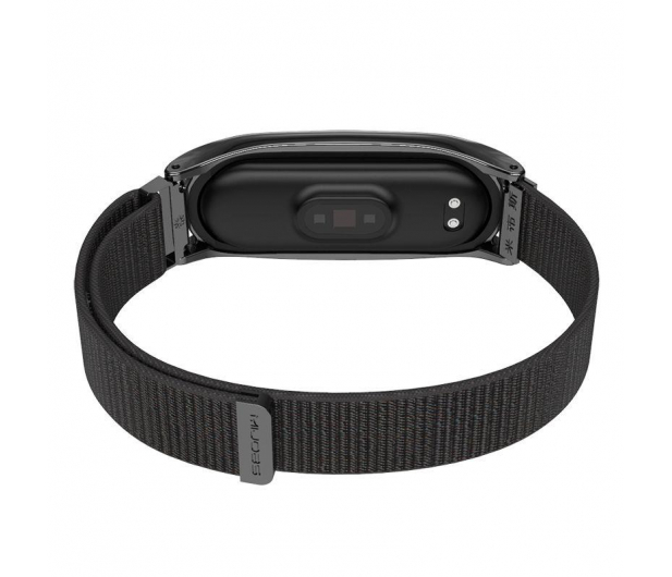Tech-Protect Pasek Nylon do Xiaomi Mi Band 5/6 black - 605548 - zdjęcie 3