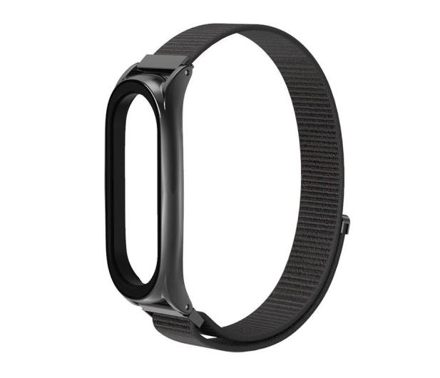 Tech-Protect Pasek Nylon do Xiaomi Mi Band 5/6 black - 605548 - zdjęcie 2