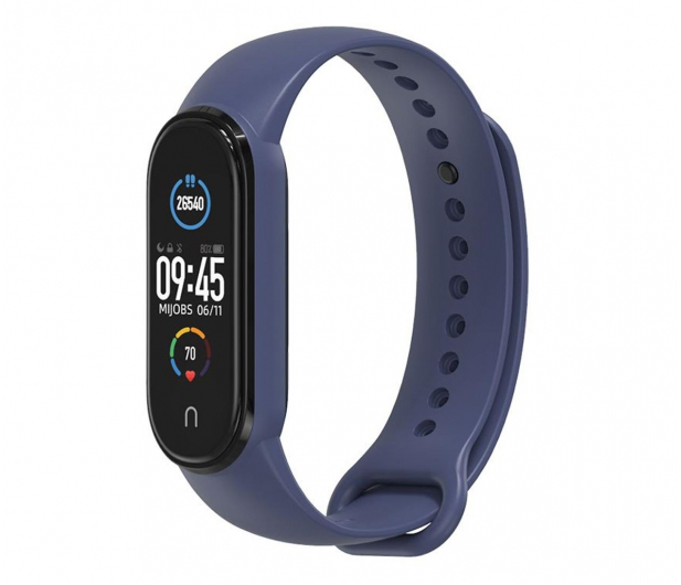 Tech-Protect Opaska Iconband do Xiaomi Mi Band 5 navy - 605558 - zdjęcie