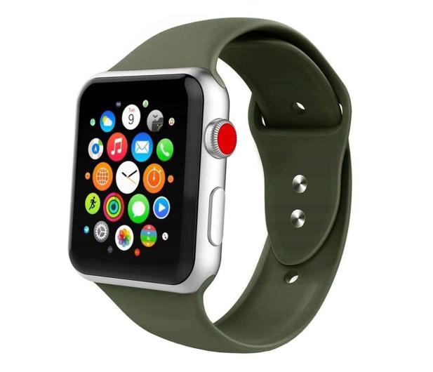Tech-Protect Opaska Iconband do Apple Watch army green - 605581 - zdjęcie