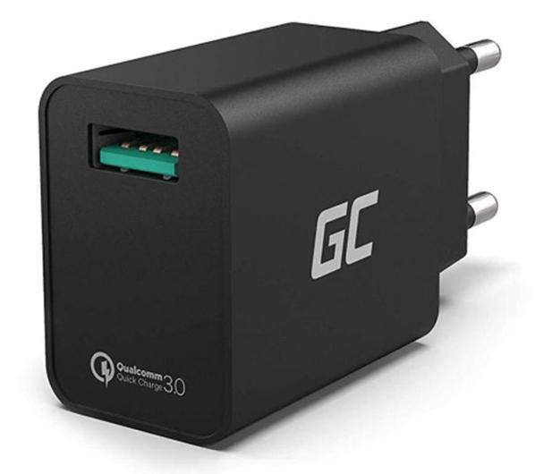 Green Cell Ładowarka sieciowa 18W (1x USB, QC 3.0) - 603187 - zdjęcie
