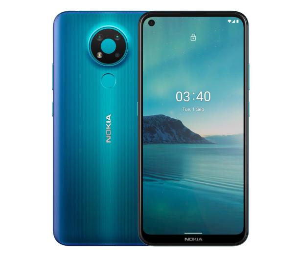 Nokia 3.4 Dual SIM 3/64GB niebieski - 596114 - zdjęcie