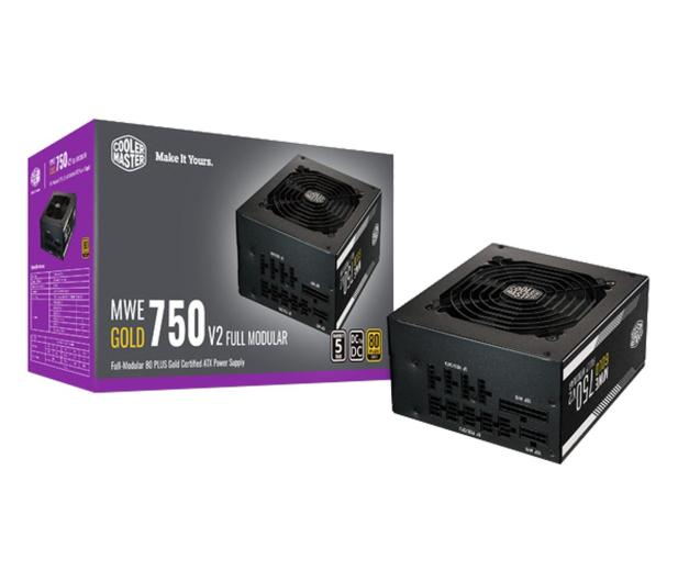 Cooler Master MWE GOLD-V2 750W 80 Plus Gold - 604215 - zdjęcie