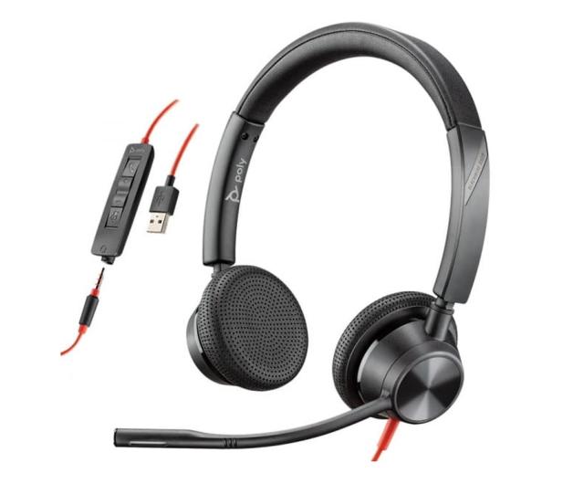 Poly Blackwire 3325 USB-A + jack 3,5mm - 604310 - zdjęcie