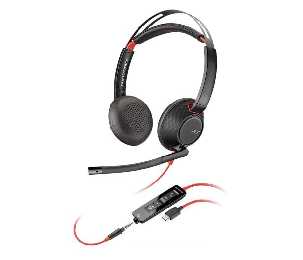Plantronics Blackwire C5220 USB-C + jack 3,5  - 604306 - zdjęcie