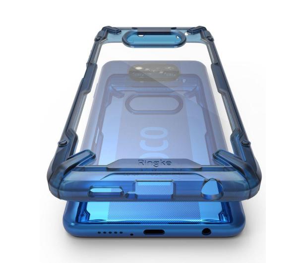 Ringke Fusion X do Xiaomi POCO X3/X3 Pro niebieski - 604863 - zdjęcie 3
