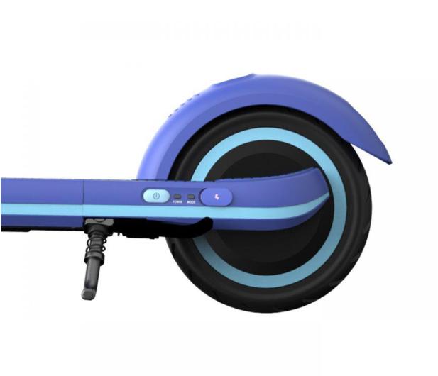Ninebot by Segway KickScooter E8 niebieska - 605933 - zdjęcie 4
