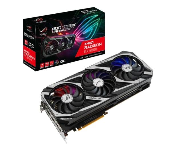 ASUS Radeon RX 6800 ROG Strix OC 16GB GDDR6 - 609136 - zdjęcie