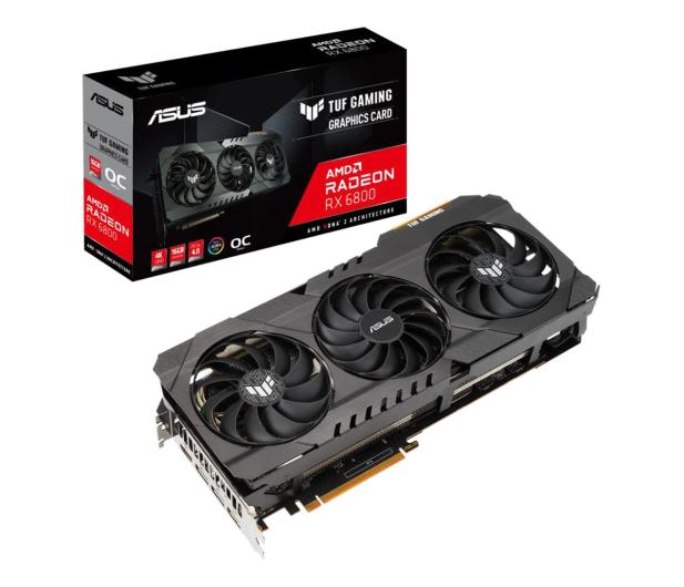ASUS Radeon RX 6800 TUF GAMING OC 16GB GDDR6 - 609137 - zdjęcie
