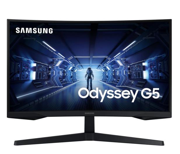 Samsung Odyssey C27G55TQWRX Curved HDR - 635234 - zdjęcie