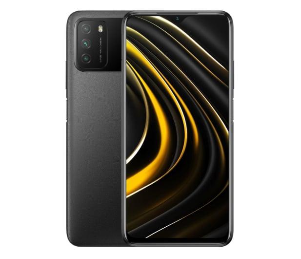 Xiaomi POCO M3 4/64GB Power Black - 608683 - zdjęcie