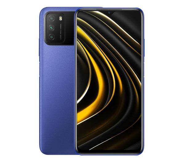 Xiaomi POCO M3 4/64GB Cool Blue - 608684 - zdjęcie