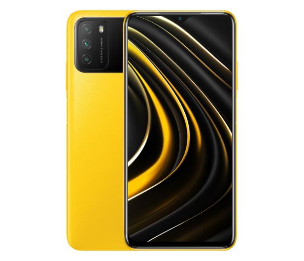 Xiaomi POCO M3 4/64GB Yellow - 608685 - zdjęcie