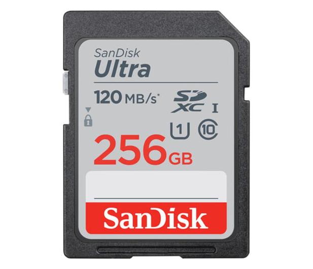 SanDisk 256GB SDXC Ultra 120MB/s C10 UHS-I - 609139 - zdjęcie