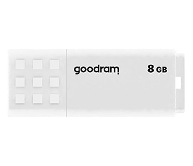 GOODRAM 8GB UME2 odczyt 20MB/s USB 2.0 biały - 606419 - zdjęcie