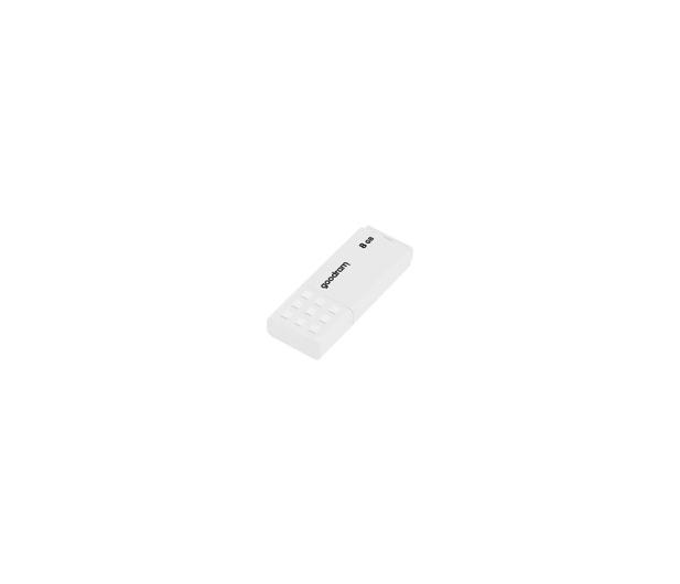 GOODRAM 8GB UME2 odczyt 20MB/s USB 2.0 biały - 606419 - zdjęcie 3