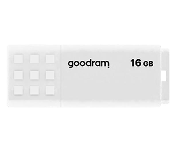 GOODRAM 16GB UME2 odczyt 20MB/s USB 2.0 biały - 606420 - zdjęcie