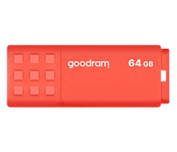 GOODRAM 64GB UME3 odczyt 60MB/s USB 3.0 pomarańczowy - 606354 - zdjęcie