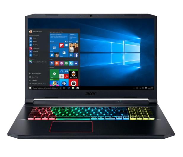 Acer Nitro 5 i7-10750H/32GB/512+1TB/W10PX RTX2060 120Hz - 586262 - zdjęcie