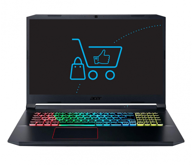 Acer Nitro 5 i7-10750H/16GB/512 RTX2060 120Hz - 571734 - zdjęcie