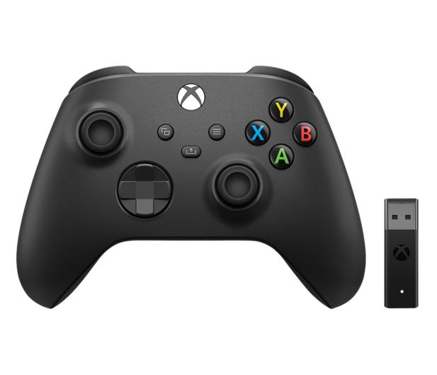 Microsoft Xbox Series Controller + Adapter - 609575 - zdjęcie