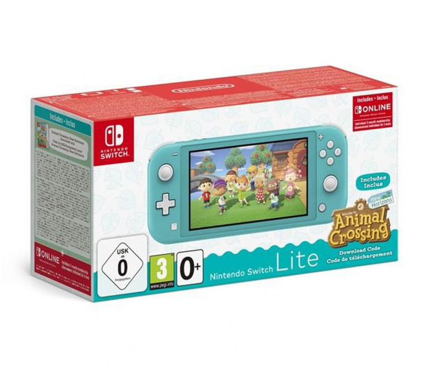 Nintendo Switch Lite - Morski + ACNH + NSO 3 miesiące - 609799 - zdjęcie
