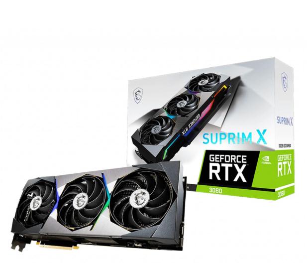 MSI GeForce RTX 3080 SUPRIM X 10GB GDDR6X - 600904 - zdjęcie