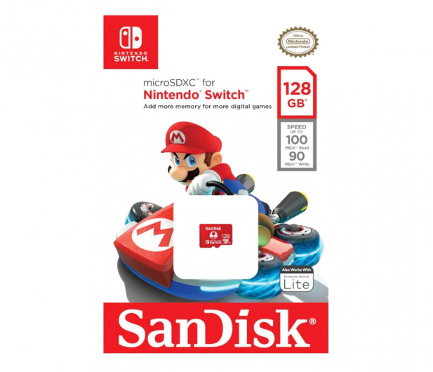 SanDisk 128GB microSDXC 100MB/s A1 V30 Nintendo Switch - 581871 - zdjęcie 3