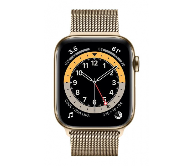 Apple Watch 6 44/Gold Steel/Gold Loop LTE - 609934 - zdjęcie 2