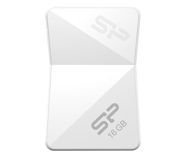 Silicon Power 16GB Touch T08 USB 2.0 biały - 607644 - zdjęcie