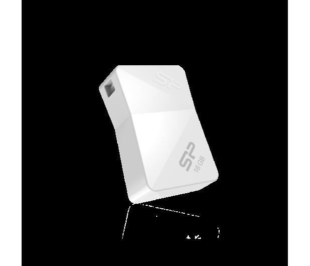 Silicon Power 16GB Touch T08 USB 2.0 biały - 607644 - zdjęcie 2
