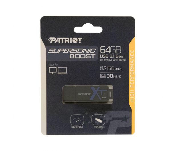 Patriot 64GB Supersonic Boost XT (USB 3.0) 150MB/s - 605732 - zdjęcie 3