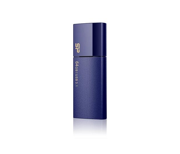 Silicon Power 64GB Blaze B05 USB 3.2 niebieski - 607582 - zdjęcie 3