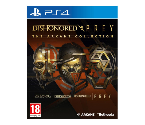 PlayStation Dishonored and Prey: The Arkane Collection - 601467 - zdjęcie