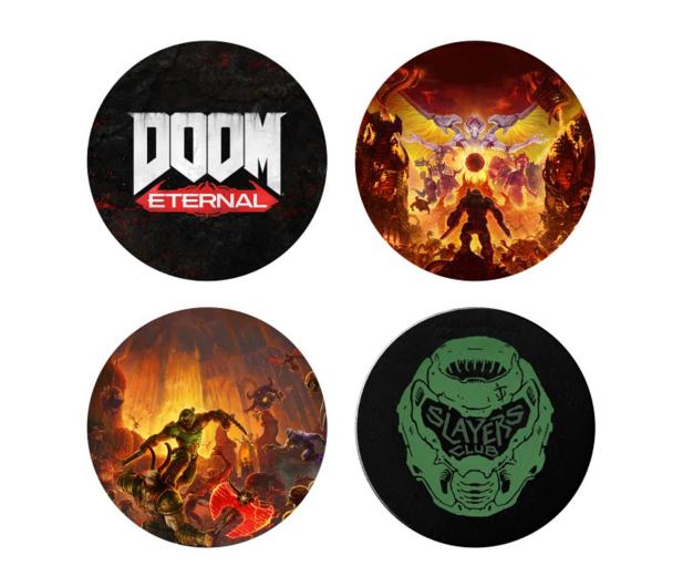 """KochMedia Podkładka Doom Eternal """"Slayers Club"""" - 602104 - zdjęcie"""
