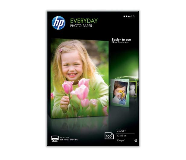 HP Papier fotograficzny (10x15,200g,połysk) 100 szt. - 601799 - zdjęcie