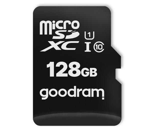 GOODRAM 128GB microSDXC 100MB/s C10 UHS-I U1 - 601411 - zdjęcie