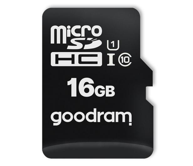GOODRAM 16GB microSDHC 100MB/s C10 UHS-I U10 - 601408 - zdjęcie