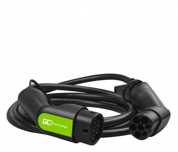 Green Cell Kabel GC EV Type 2 7.2kW 5m - 601271 - zdjęcie