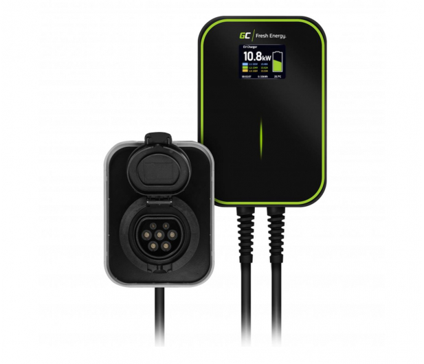 Green Cell Ładowarka Wallbox GC EV PowerBox 22kW - Type 2 - 601281 - zdjęcie