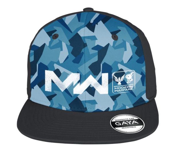 """Gaya Snapback Call of Duty MW """"Logo"""" niebieski - 601084 - zdjęcie"""