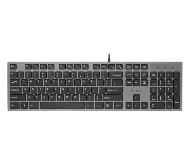 A4Tech KV-300H Slim szaro-czarna USB - 58539 - zdjęcie