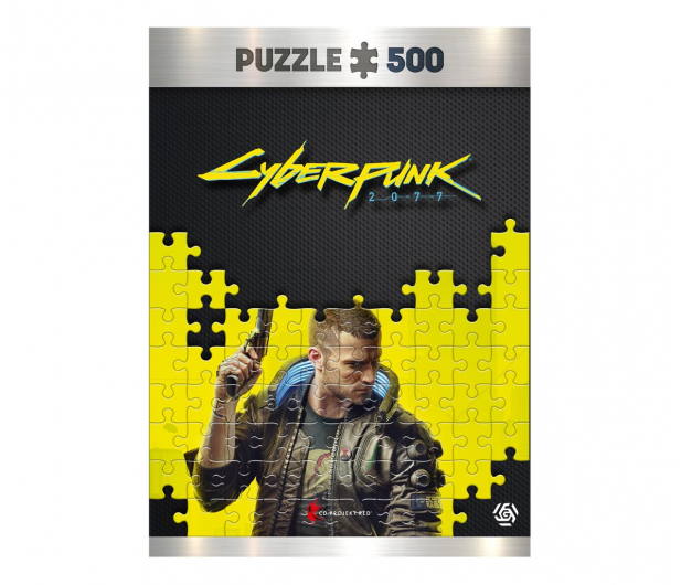 CENEGA Cyberpunk 2077: Keyart Male V puzzles 500 - 601986 - zdjęcie