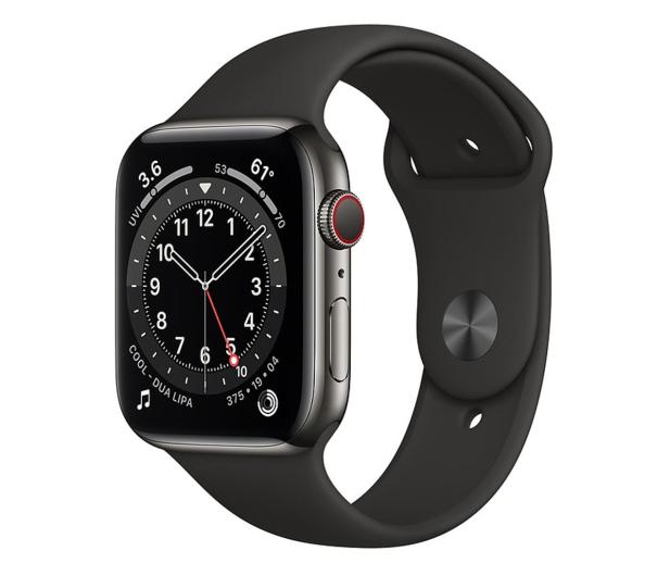 Apple Watch 6 44/Graphite Steel/Black Sport LTE - 601950 - zdjęcie