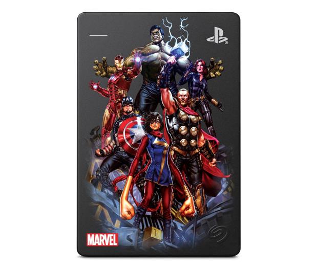 Seagate Game Drive Marvel Avengers Assembled USB 3.0 - 602686 - zdjęcie
