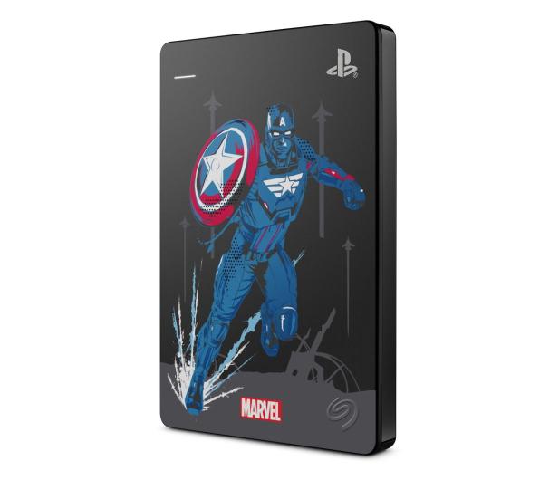 Seagate Game Drive Marvel Avengers Cap 2TB USB 3.0  - 602659 - zdjęcie 2