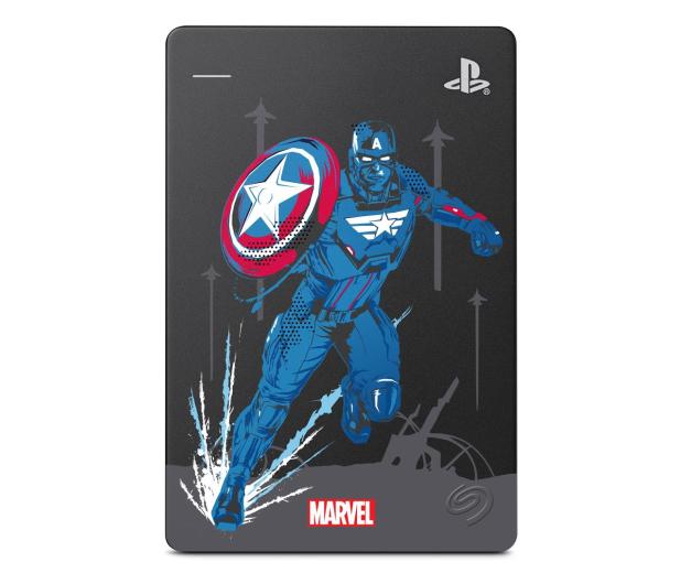 Seagate Game Drive Marvel Avengers Cap 2TB USB 3.0  - 602659 - zdjęcie