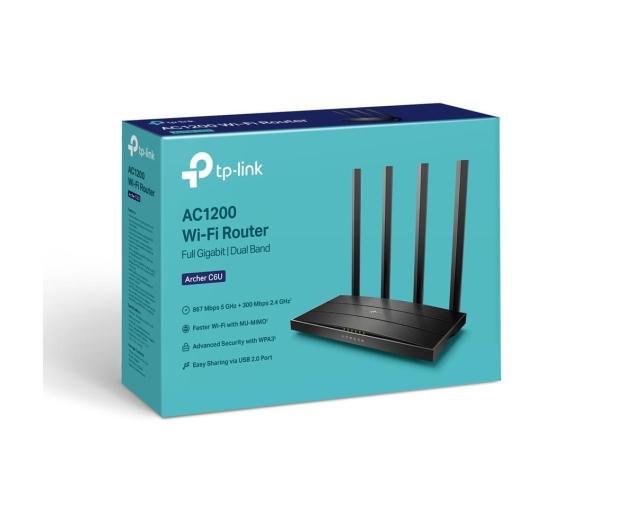 TP-Link Archer C6U (1200Mb/s a/b/g/n/ac) USB DualBand - 604426 - zdjęcie 4