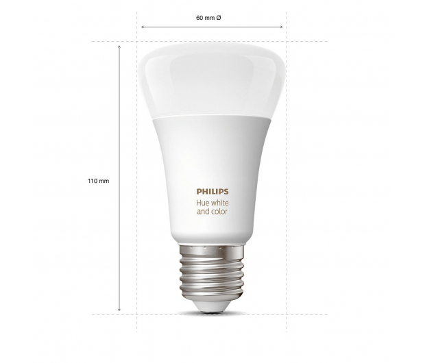 Philips Hue White and Color Ambiance (1szt. E27 9W) - 436041 - zdjęcie 3